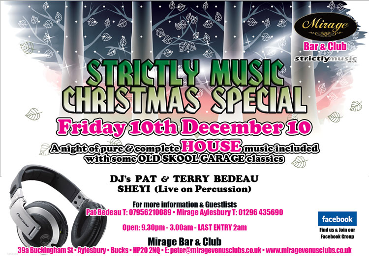 Friday 12th December