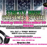 Strictly Music Christmas Party 10th Dec